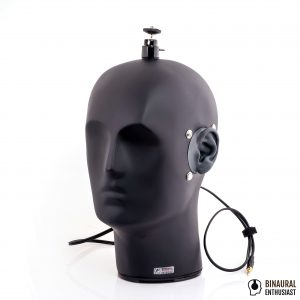 B1-E Dummy Head with BE-P1 Binaural Microphones